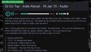 IAAM Radio - The Livelong June
